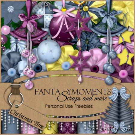 Новогодние рамки. Чудесная новогодняя рамка, сделанная как скрап-набор, позволяет Вам самостоятельно выбрать, как будет выглядеть новогодняя рамка для фото. Новогодняя рамка выдержана в лилово-серых тонах с жёлтыми цветами, что позволяет создать красивую оригинальную новогоднюю рамку для детских и взрослых фотографий.
