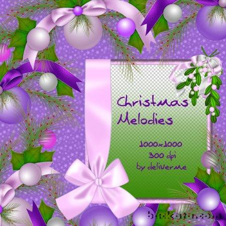 Новогодние рамки. Нежная новогодняя рамка для фото на фиолетовом пятнистом фоне. Если приглядеться повнимательнее, можно разглядеть на фоне маленькие хорошенькие звёздочки. Новогодняя рамка украшена красивыми розовыми, лиловыми и фиолетовыми ёлочными шарами и замечательными шёлковыми бантами. Сама новогодняя рамка по одному краю также украшена шёлковой лентой с бантом. Отличная новогодняя рамка для взрослых и детских портретов.