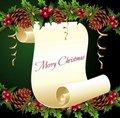 Новогодние рамки. Небольшая новогодняя рамка для создания праздничной аватарки на тёмно-зелёном фоне с пергаментом. Новогодняя рамка для фото может стать и праздничной открыткой, если вместо фото Вы поставите в пергамент поздравительный текст. Новогодняя рамка из пергамента отлично подойдёт и для создания собственных новогодних рамок, которые будут радовать Вас и Ваших близких во время новогодних праздников.