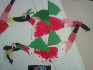 Дракон из бумажной тарелки - 2