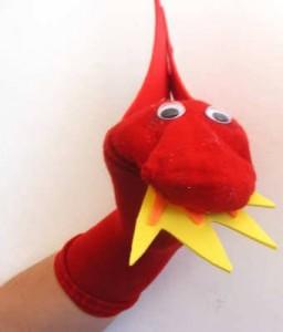 Дракон из носка - 3