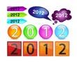 Новый год картинки 2012 - №1073