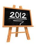 Картинка с надписью 2012 - №1413