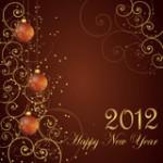 Новый год картинки 2012 - №1667