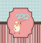 Новый год картинки 2012 - №2090