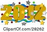 Новый год картинки 2012 - №2102