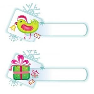 Два баннера новогодние подарки и новогоднее письмо