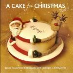 Отличный торт для новогоднего стола. Олень и Санта держаться за руки