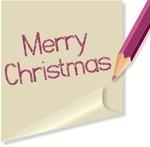 Новогодние и рождественские надписи (35)