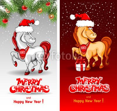 Карточки год Лошади (1)
