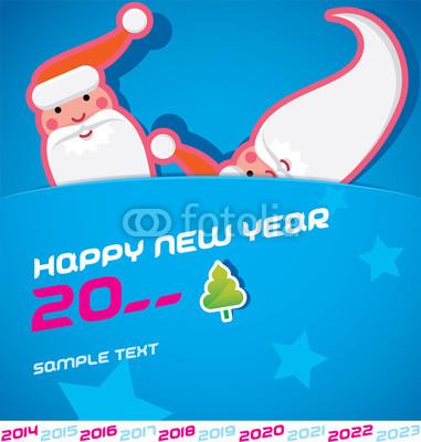 Новогодние баннеры с Сантой (1)