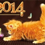 Новогодние открытки 2014 (9)