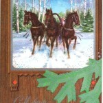 Открытки к году Лошади (4)
