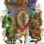 Открытки к году Лошади (7)
