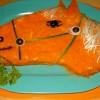 Украшение салатов к году Лошади 2014 (3)