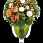 новогодние букеты с орхидеями (1)