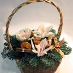 новогодние букеты с орхидеями (16)