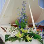 новогодние букеты с орхидеями (4)