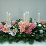 новогодние букеты с орхидеями (5)
