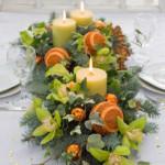 новогодние букеты с орхидеями (7)