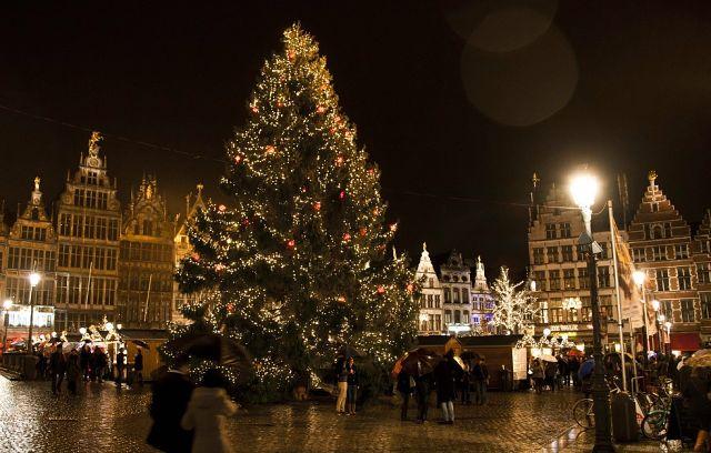 Новогодний Антверпен, Бельгия