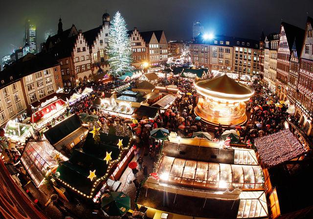 Новогодний базар в Германии