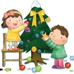 Дети в Новый год (10)