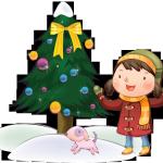 Дети в Новый год (1)