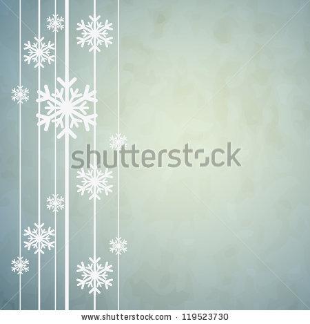Красивая подложка для новогоднего баннера со снежинками (3)