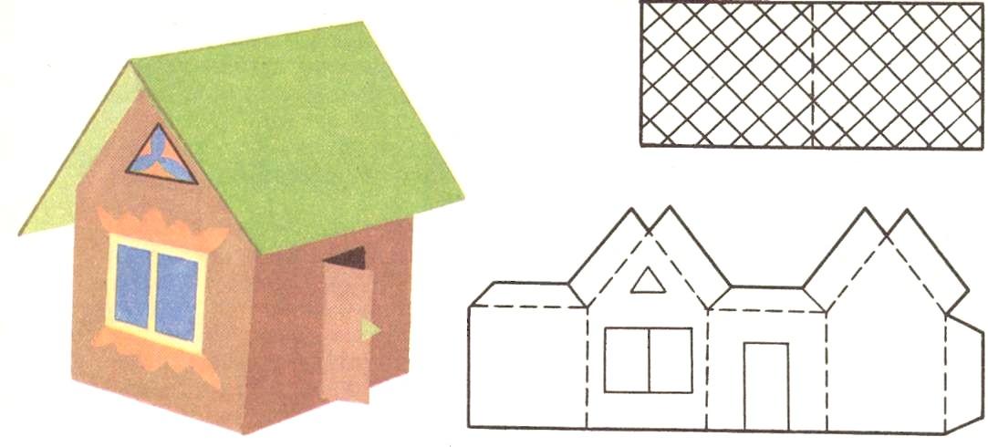 бумаги схемы как сделать