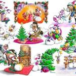 Новогодние мышата (10)
