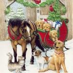 Новогодние открытки (10)