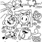 Новогодние раскраски (3)