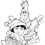 Новогодние раскраски (8)