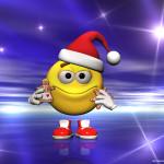 Новогодние смайлики Колобки (1)
