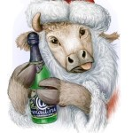 Новогодняя корова (1)