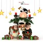 Новогодняя корова (10)