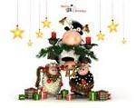 Новогодняя корова (3)