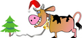Новогодняя корова (8)