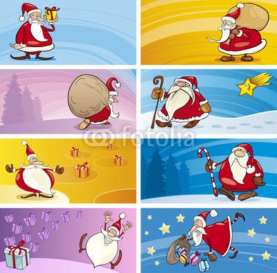Баннеры с Дедом Морозом (10)