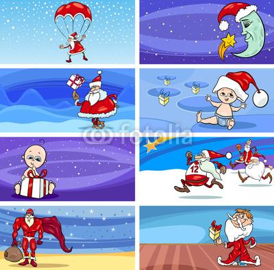Баннеры с Дедом Морозом (11)