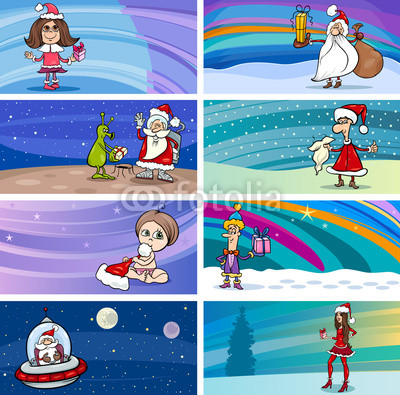 Баннеры с Дедом Морозом (12)