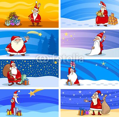 Баннеры с Дедом Морозом (3)