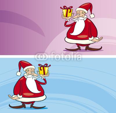 Баннеры с Дедом Морозом (6)