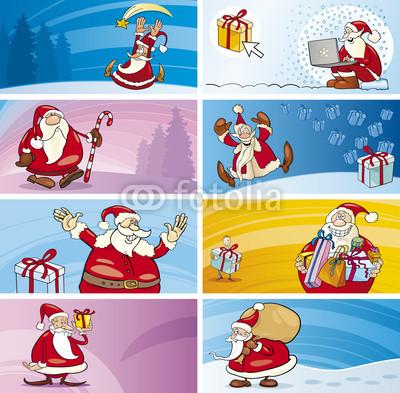 Баннеры с Дедом Морозом (8)