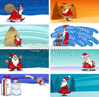 Баннеры с Дедом Морозом (9)