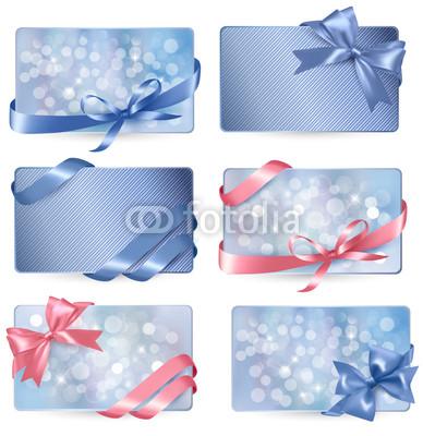 Голубые новогодние баннеры (6)