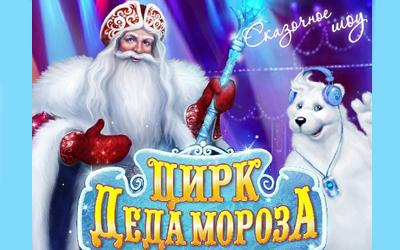 Детская Новогодняя Ёлка в Олимпийском - Цирк Деда Мороза-2