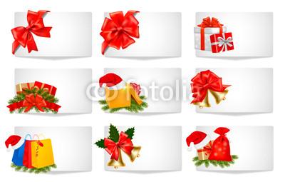 Новогодние баннеры разных цветов (3)