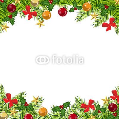 Подложка для новогодних открыток и флаеров (5)